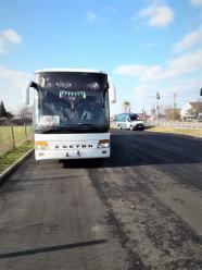 Autobus z wieloma usterkami przewoził osoby na trasie Polska - Ukraina