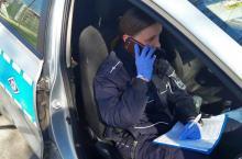 Opolscy policjanci sprawdzają przestrzeganie kwarantanny