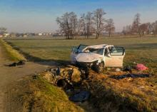 Śmiertelny wypadek w powiecie krapkowickim