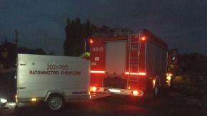 Strażacy walczyli z wyciekiem substancji do Odry