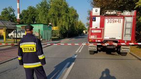 Wyciek gazu w ECO. Ulica Harcerska zablokowana