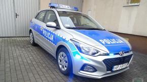 Nowy radiowóz dla policjantów z Lewina Brzeskiego