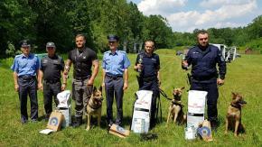 mł. asp. Rafał Gruszka i Korina zajeli 1 miejsce w Mistrzostwach Tresury Psów Specjalnych