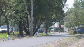 Rowerzyści mogą już korzystać ze ścieżki przy ulicy Częstochowskiej