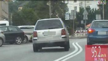 Pościg za pijanych kierowcą w Strzelcach Opolskich. Zobacz nagranie