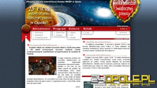 www.wosp.24opole.pl - ruszamy !