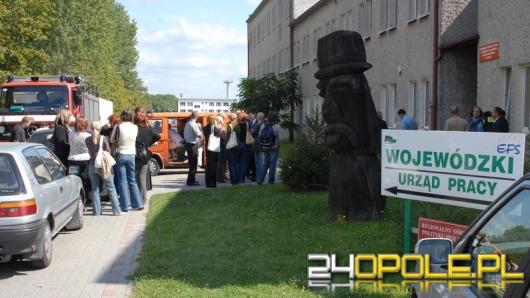 Ewakuacja Wojewódzkiego Urzędu Pracy