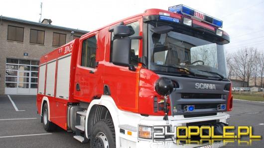 Nowe wozy opolskich strażaków