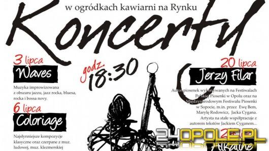 Wakacyjne koncerty na Rynku