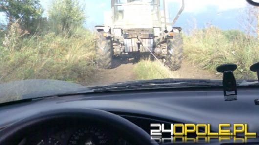 GPS wywiózł ich do lasu