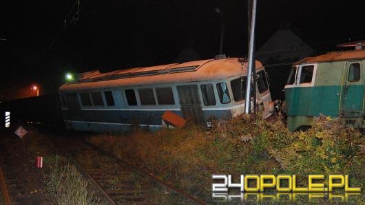 Opole: Wykoleił się pociąg