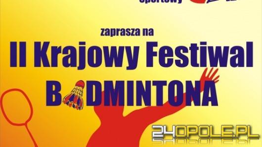 Opole: W sobotę zawody w badmintona