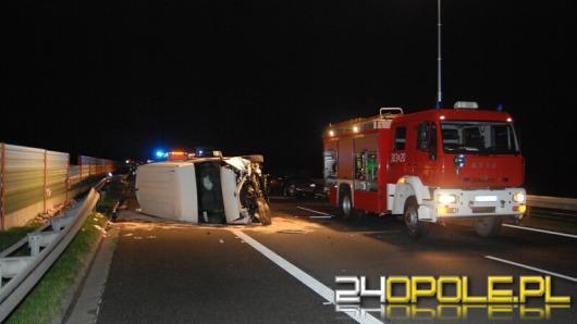 Pięć osób rannych w wypadku na A4