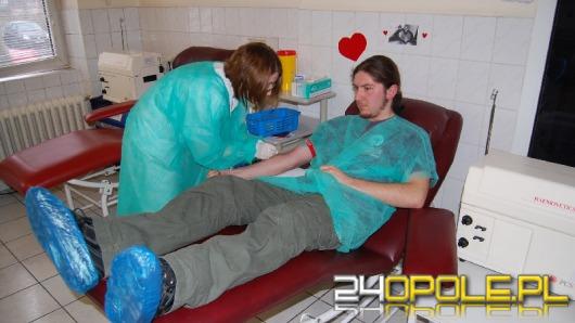 Oddaj krew na walentynki