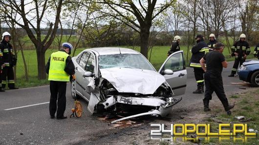 Wypadek w Brynicy