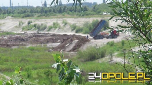 Nielegalne wysypisko na ul. Podmiejskiej