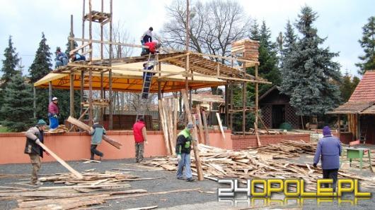 Ruszyła budowa szopki w Szczepanowicach