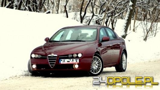 Alfy Romeo 159 w opolskiej drogówce