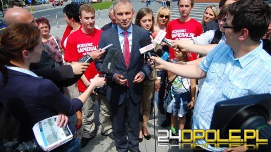 Lider SLD zabiegał o poparcie w Opolu