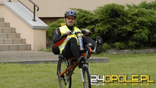 Rajd rowerowy opolskich uczelni