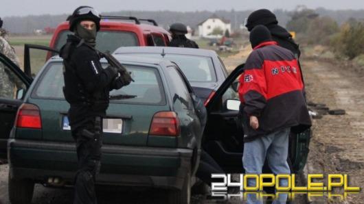 Handlarze bronią zatrzymani pod Opolem