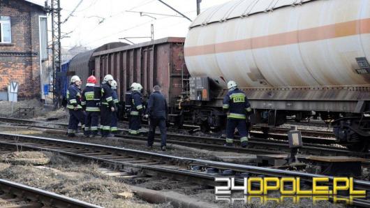 W centrum Opola wykoleił się wagon