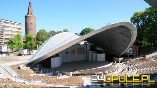 Ostatnie prace w opolskim amfiteatrze