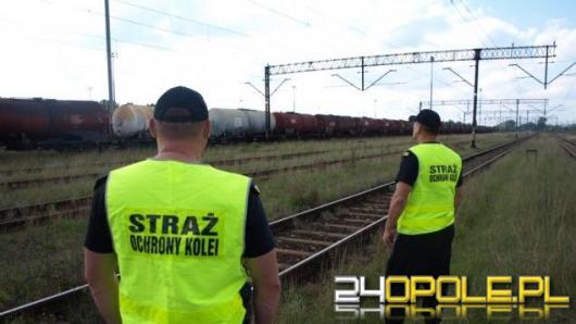 Straż ochrony kolei udaremniła kradzież trakcji