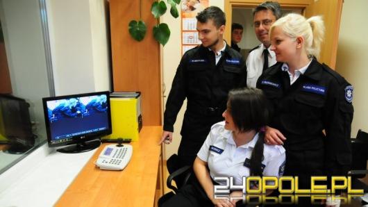 Klasy policyjne odwiedziły opolską komendę