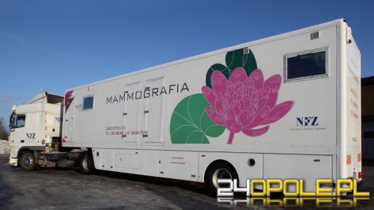 Mammobus - darmowe badania dla kobiet z Opolszczyzny