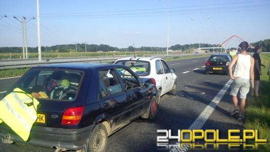 Angielscy studenci utknęli na autostradzie