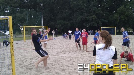 Piłka ręczna na piasku. W Opolu odbył się Półfinał Mistrzostw Polski