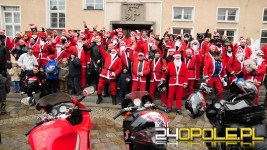 Ponad stu zmotoryzowanych Mikołajów w Opolu