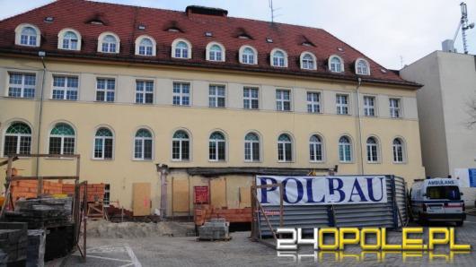 Trwa wielki remont w szpitalu przy ul. Katowickiej