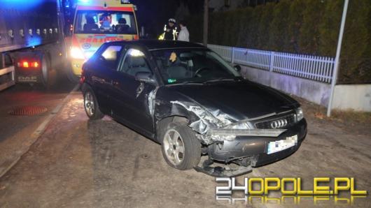 25-letni kierowca sprawcą zderzenia na ul. Grudzickiej