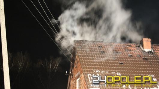 8 zastępów straży gasiło pożar w Grabczoku