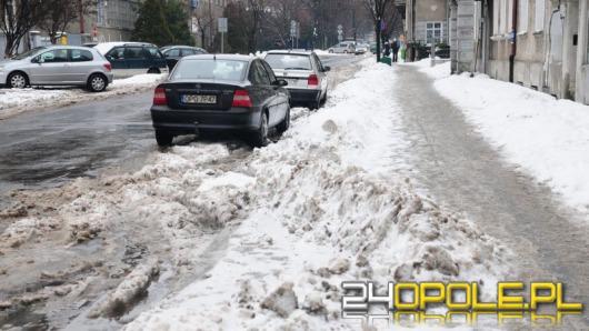 Strefa parkowania w śniegu. Nie tak miało być
