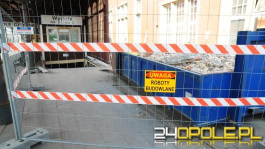 Ruszył remont opolskiego dworca - na początek tunel