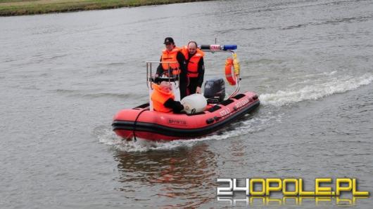 Opolscy strażacy ćwiczą akcje ratownicze na wodzie