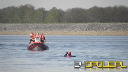 Przewrócona motorówka na Jeziorze Turawskim. Kierujący pijany
