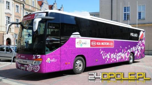 Zobacz autobus reprezentacji Polski  na EURO2012