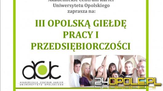 Giełda pracy na Uniwersytecie Opolskim