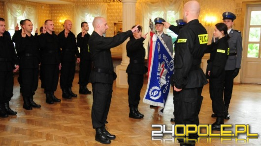 31 nowych stróżów prawa w opolskiej policji