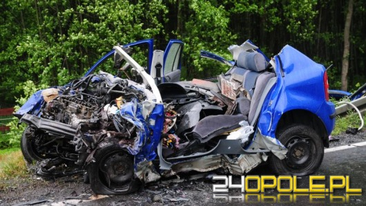 53-latek wyprzedzał na łuku, zginął po zderzeniu z ciężarówką