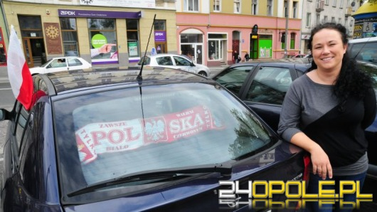 Opole w biało – czerwonych barwach