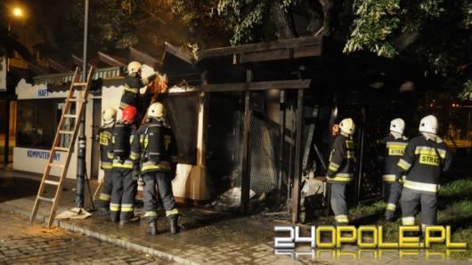 Podpalacz grasował w nocy w centrum Opola