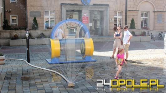 Kurtyny wodne wreszcie na ulicach Opola