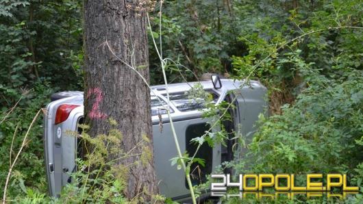 Pijany 60-latek rozbił auto w Tułowicach
