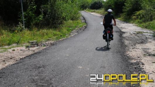 Trochę starego asfaltu i nowa trasa rowerowa gotowa