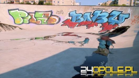 Nowy skatepark zdewastowany - ktoś rozlał tam olej